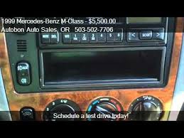 1999 mercedes ml 430 1999 mercedes m class ml430 for sale in portland or