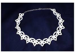 white lace necklace images White lace necklaces with beads jpg