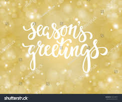 handdrawn lettering seasons greetings design stock vector