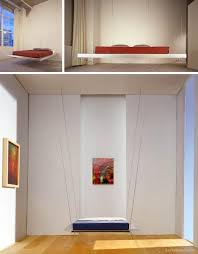 Hanging Shelves From Ceiling by Bed Hanging From Ceiling Hanging Furniture Suspended Bed Chair