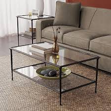 Barrel Side Table Lovely Crate And Barrel Coffee Table Pia Coffee Table In Side