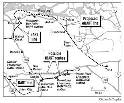 bart extensions tri valley bart line proposed bart plan calls for diesel to