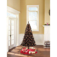 Fully Decorated Artificial Christmas Trees Black Christmas Tree Ebay