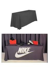 trade show table covers cheap table covers printed and non printed available in many stock colors