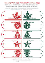 christmas gift tags gorgeous free printable planning with kids