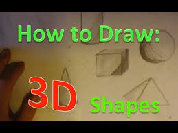 sketching and shading 3 d forms lessons tes teach