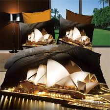 3d Bedroom Sets by Aliexpress Com Buy 3d Printing Sydney Opera House Bedding Sets