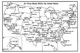 afb map list of united states air installations map of