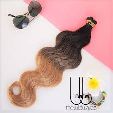 i tip hair extensions tip hair extension wave 22 inches ombre 1b 17 gradient from