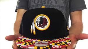Black Flag Hat Redskins U0027maryland Flag Strapback U0027 Black Hat By New Era Youtube