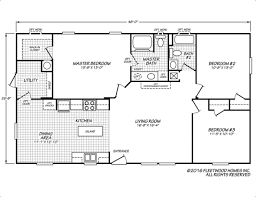 Fleetwood Manufactured Homes Floor Plans Sandalwood Xl 28483l Fleetwood Homes