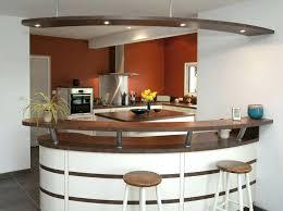 cuisine avec bar table bar avec rangement cuisine table haute cuisine avec rangement