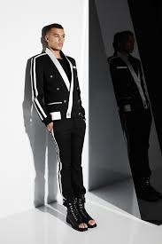 balmain designer balmain 2015 menswear collection vogue