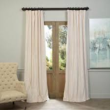 Stationary Curtain Rod Window Treatments Bellacor