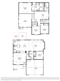 Floor Plan Layout by Cbh Homes Rutherford 2538 Floor Plan