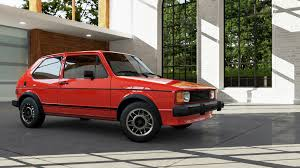 volkswagen rabbit forza motorsport 5 cars