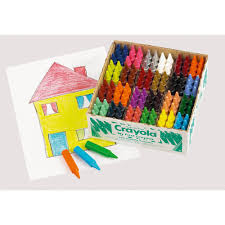 crayola mini kids crayons 144 from early years resources uk