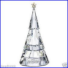swarovski silver crystal 2009 magical christmas tree mint in box