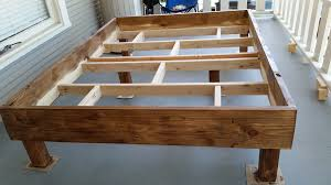 Bed Frame Plans Farmhouse Bed Frame Plans Mtc Home Design Trends Of Diy Rustic