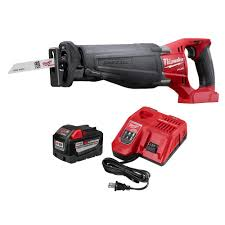 Home Depot Deal Of The Day by Milwaukee M18 Fuel 18 Volt Lithium Ion Brushless Cordless Sawzall
