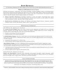 resume template entry level sales representative medical sales rep resume
