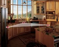 kitchen triangle with island how to smartly organize your kitchen design triangle kitchen