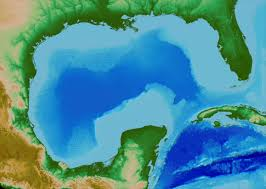Gulf Of Mexico On Map by Split Beam Echosounder Observations Of Natural Methane Seep