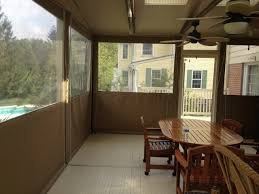 Clear Vinyl Curtains For Porch Residential Drop Curtains Enclosures Gallery Kreider S Canvas