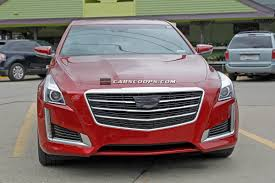 2010 cadillac cts grill scoop 2015 cadillac cts also gets a schnozzle