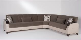 furniture sectional couch with ottoman gray leather sectional