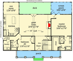 great room floor plans dramatic vaulted great room 29813rl architectural designs