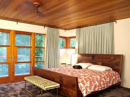 Ceiling Mount Drapery Rod Ceiling Mount Curtain Rod Bedroom Rustic With Cabin Ceiling Fan