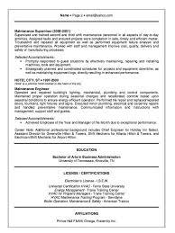 Failure Analysis Engineer Resume Hotel Engineer Resume Example Http Resumesdesign Com Hotel