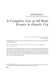 wait event oracle database input output