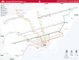Ttc Subway Map by A Better Map For The Ttc