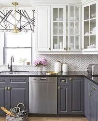 grey and white kitchen backsplash fanabis
