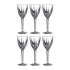 buy royal doulton flame wine glasses set of 6 amara