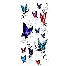 s fashion beautiful butterfly stickers