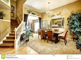 dining room in luxury american house stock photo image 44650524