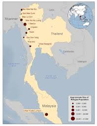 Map Burma Population Movements Burmese Immigrant And Refugee Health Cdc