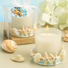 shell themed candles set of 3 oceancandles