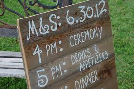 Wedding Itinerary For Guests Wedding Items We Love U2013 Keep Your Guests In The Loop Foundry