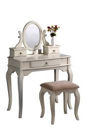 Vanity Bench Seat Vanity Tables With Oval Mirror