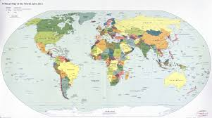 Large World Map Large Scale Political Map Of The World 2012 World Mapsland