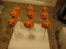 jack o lantern cake pops saucy mommy