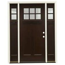 glass wood doors mahogany front doors exterior doors the home depot