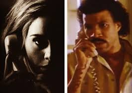 Lionel Richie Meme - lionel richie responds to adele hello mash up video with meme nme