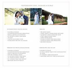 wedding videography prices wedding photography videography prices escada photography and