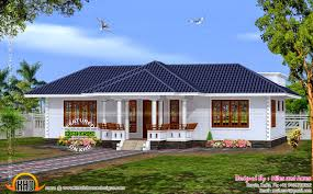 Kerala Style Home Design And Plan Beautiful Simple House Kerala Design In N Span New Home Plans