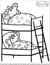 the stylish coloring pages peppa pig pertaining to inspire to
